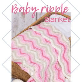 Durable Ripple Blanket Pink