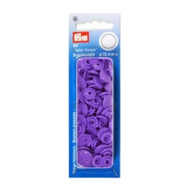 Color snaps -  Prym rond 12,4mm lavendel