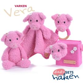 Garen en fourniturenpakket Varken Vera