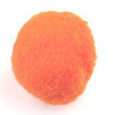 Pompom 30mm Oranje