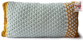 Garenpakket kussen Olle HandwerkJuffie patroon apart bestellen