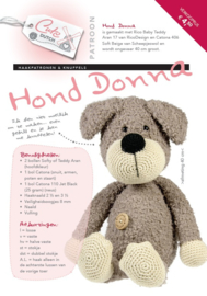Patroon hond Donna
