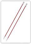 KnitPro Zing breinaald 9,00 mm met knop 40cm