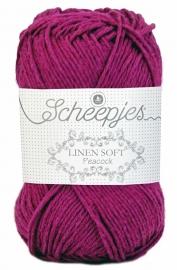 Scheepjes Linen Soft 603 Paarsfuchsia
