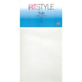 Tule Wit 140x100cm Restyle