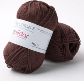 Phildar Coton 2 Bordeaux