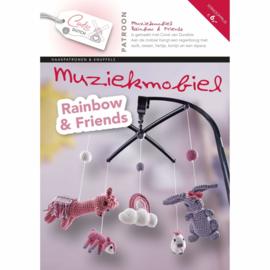 Patroonboekje Muziekmobiel Rainbow & Friends