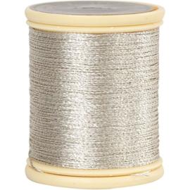 DMC metallic draad, dikte 0,36mm ZILVER