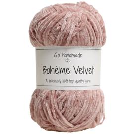 Go Handmade Bohème Velvet Fine - Soft Rose - 17610