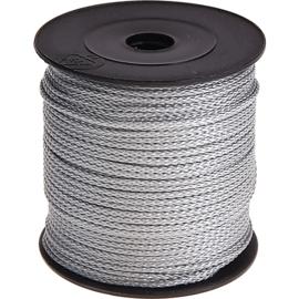 Nylon/polyester koord Zilver grijs