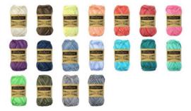 Alle 18 kleuren Catona Denim