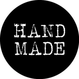 Kadosticker Handmade zwart 10 st