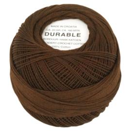 Durable borduur en haakkatoen Bruin 1047