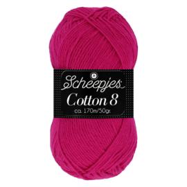 Cotton 8 Scheepjes 720 Donkerfuchsia