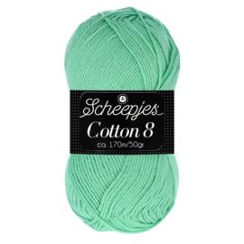 Cotton 8 Scheepjes 664 Zacht groen