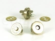 Magneetsluiting goudkleurig 18mm