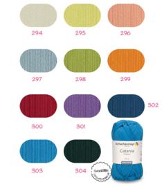 11 nieuwe kleuren Catania Trend 2021 in 1 klik! (294-304)