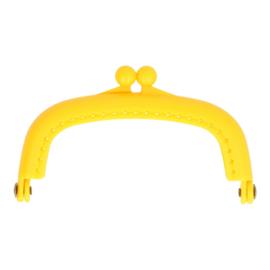 Portemonneesluiting Geel 8,5 cm