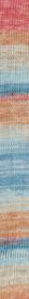 Katia Jaipur Soft 104 Waterblauw-Steengrijs-Bleekrood