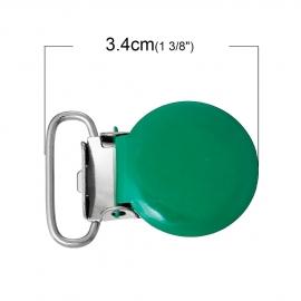 Speenclip rond Groen  20 mm