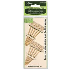 Clover Bamboo Marking Pins