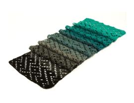 Gratis sjaalpatroon voor Durable Colourful!