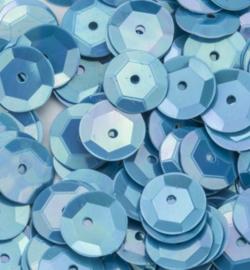 Sequins Pailletten tbabyblauw 6mm - 10gram