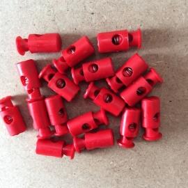 Koordstopper Rood langwerpig 25mm