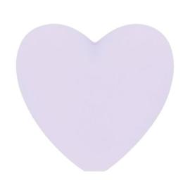 Opry siliconen kralen hartjes 5 stuks kleur 187