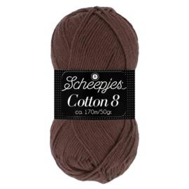 Cotton 8 Scheepjes 657 Bruin