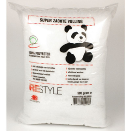 Restyle Panda Vulling 500 gram