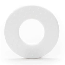 Durable Plastic bijtring Rond met noppen - 2 stuks -
