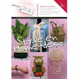Patroonboekje Style & Home-deco