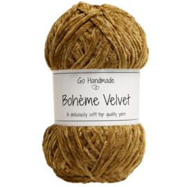 Go Handmade Bohème Velvet Fine -Vintage Curry- 17613