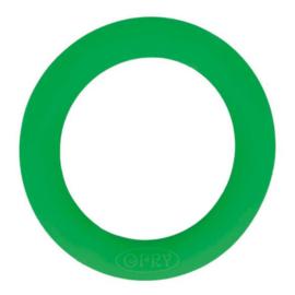 Opry siliconen bijtring  55mm kleur 433 Groen