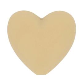 Opry siliconen kralen hartjes 5 stuks kleur 886