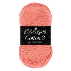 Cotton 8 Scheepjes 650 Donkerzalm
