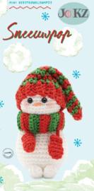 Garen en fourniturenpakket Mini kerstkoukleumpje Sneeuwpop