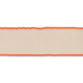 Organza lint 16mm breed Oranje