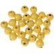 """Houten kraal 18 mm """"babyproof"""" Licht geel"""