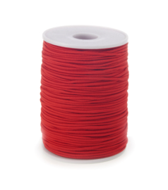 Koordelastiek 2 mm Rood