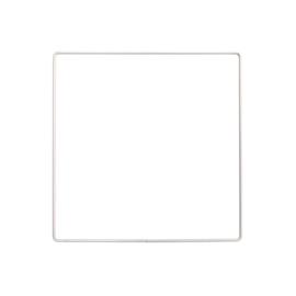 Metalen frame vierkant 20x 20cm WIT