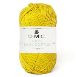 DMC 100% Baby Cotton 771  Geel