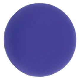 Opry Siliconen kralen 5 stuks 15mm kleur 183 Paarsblauw