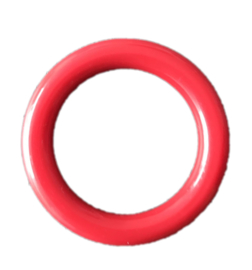 Durable Plastic Ringetje 40 mm Rood