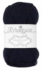 Scheepjes Linen Soft 621 Donkerblauw