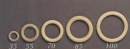 Houten ring  3,5 cm