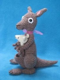 Lieve kangaroe gemaakt door Marjan