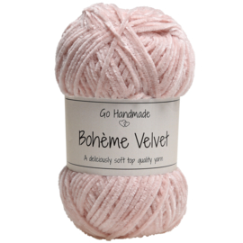 Go Handmade Bohème Velvet Fine - Cameo Rose - 17608