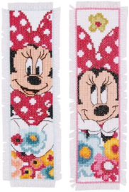 Bladwijzer Minnie Mouse aida set van 2